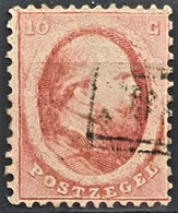 NETHERLANDS 1864 - Canceled - Sc# 5 - 10c - Used Stamps