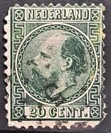 NETHERLANDS 1867 - Canceled - Sc# 10 - 20c - Used Stamps