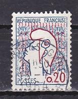 France, 1961, Marianne, 20c, USED - 1961 Marianne De Cocteau