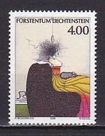 Liechtenstein, 1995, Homage To Liechtenstein, 4.00Fr, MNH - Unused Stamps