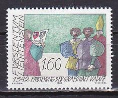 Liechtenstein, 1992, Vaduz County 650th Anniv, 1.60Fr, MNH - Unused Stamps