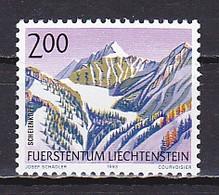 Liechtenstein, 1993, Mountains/Scheienkopf, 2.00Fr, MNH - Unused Stamps