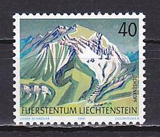 Liechtenstein, 1991, Mountains/Ochsenkoph, 40rp, MNH - Unused Stamps