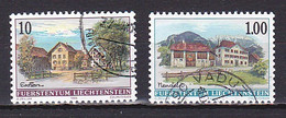Liechtenstein, 1996, Village Views, Set, USED - Used Stamps