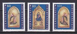 Liechtenstein, 1995, Christmas, Set, MNH - Unused Stamps