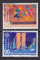 Liechtenstein, 1992, Europa CEPT, Set, CTO - Used Stamps