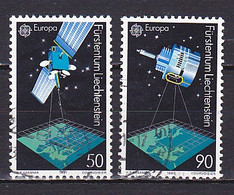 Liechtenstein, 1991, Europa CEPT, Set, USED - Used Stamps
