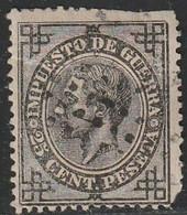 1876. º Edifil: 185. ALFONSO XII. I.G. - Usados