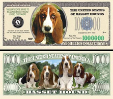 !!! USA - FANTASY NOTE -  BASSET  HOUNDS , 2011 - UNC / SERIES  WOOF - Other