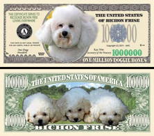 !!! USA - FANTASY NOTE -  BICHON  FRISE  DOG , 2011 - UNC / SERIES  WOOF - Other