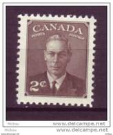 Canada, 1949, #285, MNH, George VI - Nuevos