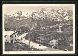 Cartolina Moncenisio, Frontiera, Grenze Auf Der Passhöhe - Other Cities