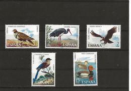 ESPAÑA 2134/2138 (5V) 1973 EDIFIL NUEVO - 1971-80 Nuevos & Fijasellos
