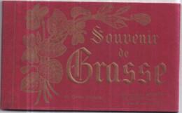 Dépt 06 - Souvenir De GRASSE - Carnet Album De 20 Cartes Postales - Grasse