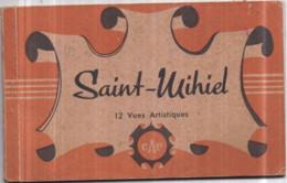 Dépt 55 - SAINT-MIHIEL - Carnet Album De 12 Cartes Postales - Vues Artistiques CAP - Saint Mihiel