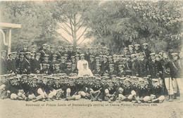"""CPA CRETE """"Souvenir Du Prince Louis De Battenberg's à La Canée, 1902"""" - Grecia"""