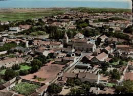 85-EN AVION AU DESSUS DE...ILE DE NOIRMOUTIER...L'EPINE...LE CENTRE....CPSM GRAND FORMAT - Ile De Noirmoutier