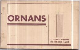 """Dépt 25 - ORNANS - Album Carnet """"12 CARTES POSTALES DE GRAND LUXE"""" - Braün Et Cie - Andere Gemeenten"""