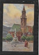 AK 0660  Bozen - Pfarrkirche / P. A. Higa-Künstlerkarte Um 1910-20 - Bolzano (Bozen)