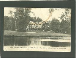 35 Le Chatelier Chateau Du Fretay Façade Sud Vue De L'étang édit. Mary Rousselière N° 4187 Environs De Fougères - Le Châtellier