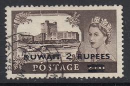 Kuwait, SG 107a (Ty. II Overprint), Used - Kuwait