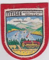 Ecusson Tissu - Allemagne - Titisee - Blason - Armoiries - Héraldique - Patches