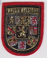 Ecusson Tissu - Belgique - Les 9 Régions - Blason - Armoiries - Héraldique - Patches