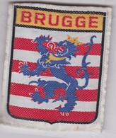 Ecusson Tissu - Belgique - Brugge - Bruges - Blason - Armoiries - Héraldique - Patches