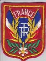 Ecusson Tissu - France - Drapeaux - Blason - Armoiries - Héraldique - Patches