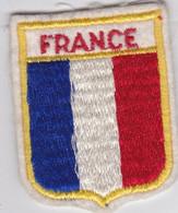 Ecusson Tissu - France - Drapeau - Blason - Armoiries - Héraldique - Patches