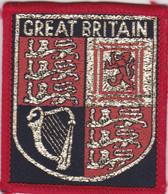 Ecusson Tissu - Grande-Bretagne - Great Britain - Blason - Armoiries - Héraldique - Patches