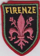 Ecusson Tissu - Italie - Firenze - Blason - Armoiries - Héraldique - Patches