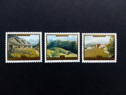 LIECHTENSTEIN MI-NR. 1056-1058 POSTFRISCH(MINT) GEMÄLDE Von HANS GANTNER 1993 - Unused Stamps