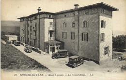 GORGES DU TARN  Mont Aigoual Le Grand Hotel Voitures D' Epoque  Peu Habituelle RV - Non Classés