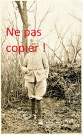 CARTE PHOTO FRANCAISE - LE SERGENT MARTIN A CAPPY PRES DE BRAY SUR SOMME - CHUIGNES - GUERRE 1914 1918 - Guerra 1914-18