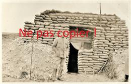 CARTE PHOTO FRANCAISE 322 RIT - LE LIEUT. LONG A BRAY SUR SOMME PRES DE MEAULTE - ALBERT SOMME - GUERRE 1914 1918 - Guerra 1914-18