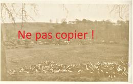 CARTE PHOTO FRANCAISE - DEPOT DE DOUILLES D'OBUS ENTRE CHUIGNOLLES ET BRAY SUR SOMME - GUERRE 1914 1918 - Oorlog 1914-18