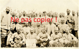 CARTE PHOTO FRANCAISE - LES TELEPHONISTES DU 322e RIT A SOUILLY PRES DE LEMMES MEUSE 1916 - GUERRE 1914 1918 - Guerra 1914-18