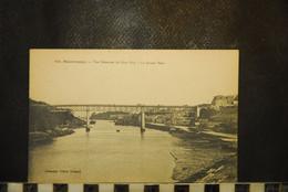 CP, 29, DOUARNENEZ - Vue Générale Du Port Rhu - Le Grand Pont - Douarnenez