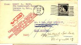 43945 - Pour L'Allemagne De L'Est - Cartas