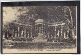 9414. ROSERAIE  DE L HAY LES ROSES . LE THEATRE DES ROSES . RECTO/VERSO .   ANIMEE . - L'Hay Les Roses