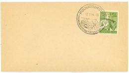 HAUT RHIN ENV 1944 TIMBRE ALLEMAND OBLIT MULHAUSEN CACHET ALLEMAND ILLUSTRE - 1921-1960: Modern Period