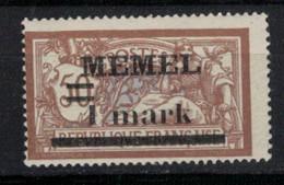 MEMEL      N° YVERT  :  26  NEUF SANS CHARNIERE     ( NSCH 2 /03  ) - Unused Stamps