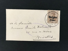 MINI Briefomslag OC11 Marchienne Au Pont 1D - [OC1/25] Gen.reg.