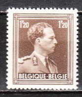 845**  Leopold III Col Ouvert - Bonne Valeur - MNH** - LOOK!!!! - 1936-1957 Col Ouvert