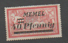 MEMEL      N° YVERT  :  53  NEUF SANS CHARNIERE     ( NSCH 2 /03  ) - Unused Stamps