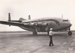 CPA - Bréguet 2 Ponts - Compagnie Air France - Aéroport De Marseille Marignane - 1946-....: Modern Era