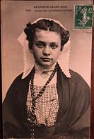 Cpa, Jeune Fille De Perros-Guirec, Série La Côte De Granit Rose, Folklore Breton,Traditions, Costume Breton - Perros-Guirec