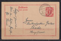 Danzig Bedarfsganzsache MiNo. P 26 O Kalthof 3.9.28 - Danzig