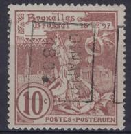 WERELDTENTOONSTELLING BRUXELLES 1896 Nr. 73 Voorafgestempeld Nr. 202 B  DINANT 1898 ; Staat Zie Scan ! Inzet 100 € ! - Roulettes 1894-99